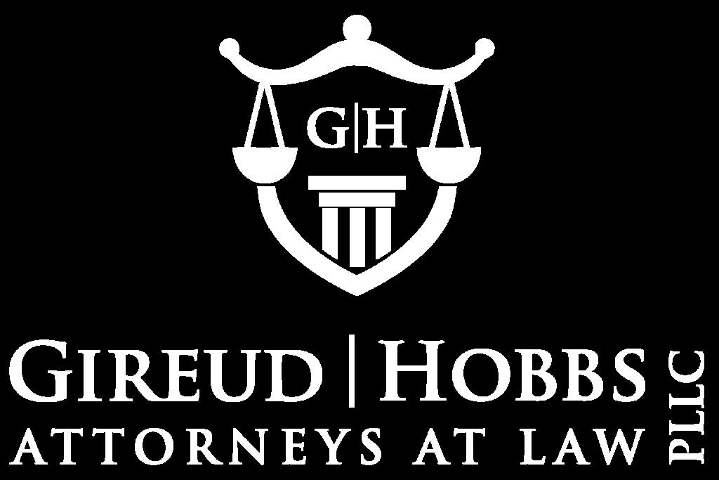 Gireud Hobbs, PLLC - White Logo-01